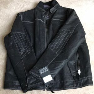 Stormtech Performance Distressed Leather Jacket